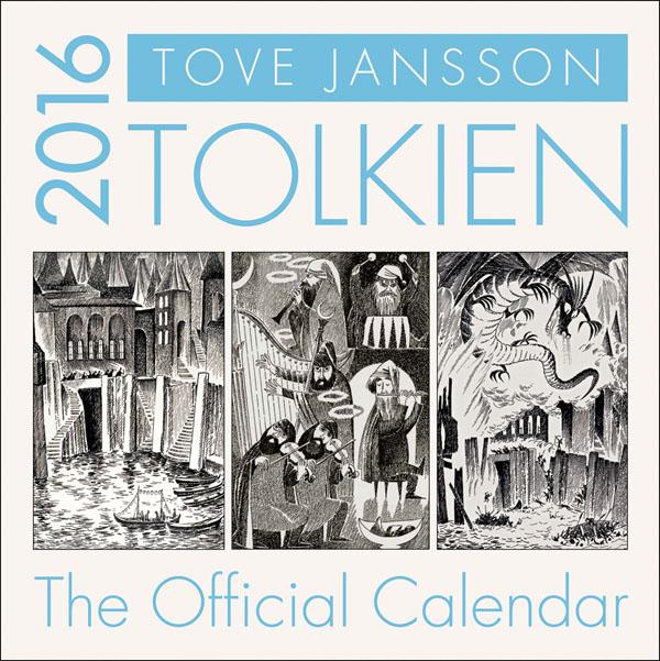 Tolkien Calendar 2016. HarperCollins.