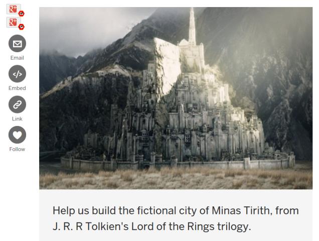 Realise Minas Tirith on Indiegogo.