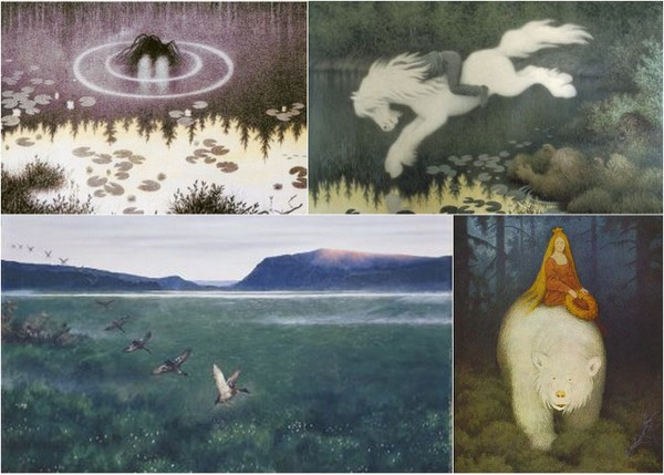 Kittelsen Collage