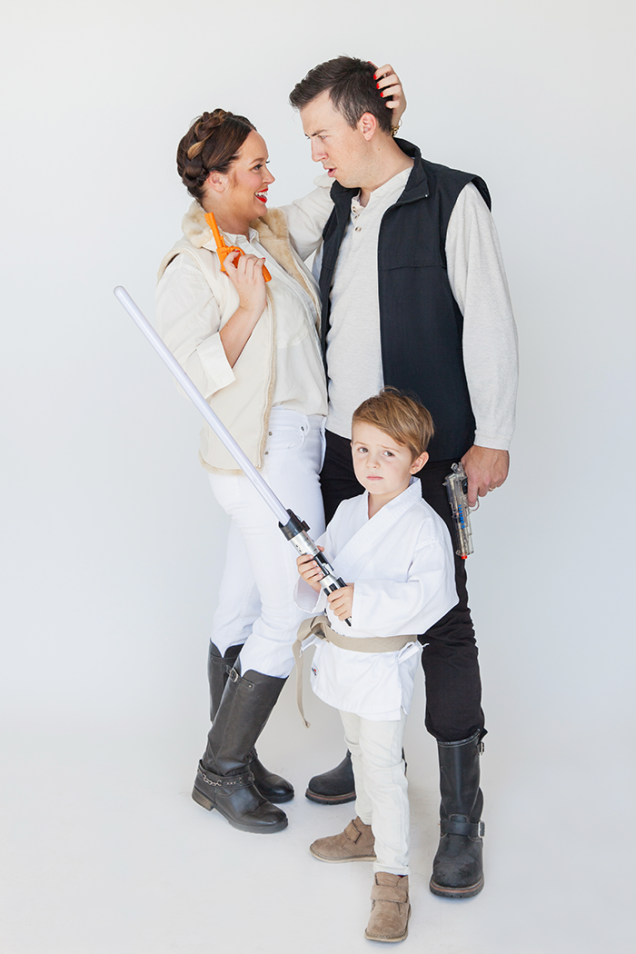 Star Wars group costumes. Photo by Ashley Thalman / Say Yes.