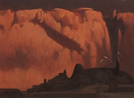 Schoenherr Dune Dawn at the Palace of Arrakeen