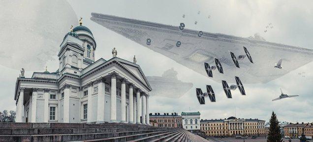 Helsingin Sanomat Stadi Wars Senate Square