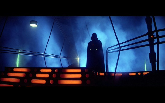 Vader Cloud City carbon freeze room