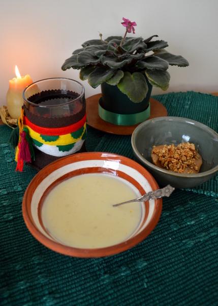 LotR Dinner1 Soup Dessert
