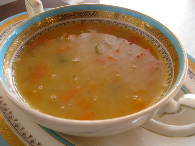 A Charlotte Riley Flickr Yellow pea soup