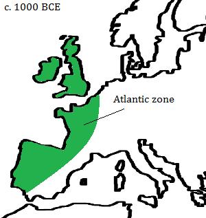 The Atlantic cultural zone. Map by Erik Jensen