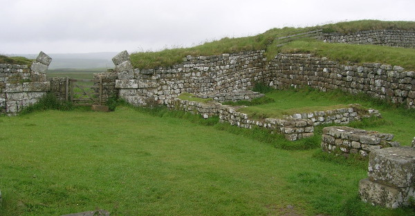 Milecastle 37, photograph by Erik Jensen