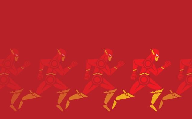 Jeffrey Veregge scarlet-blurr