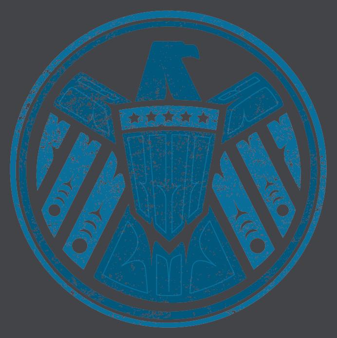 Jeffrey Veregge Shield Logo