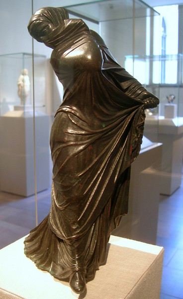 The Met Bronze Veiled Masked Dancer