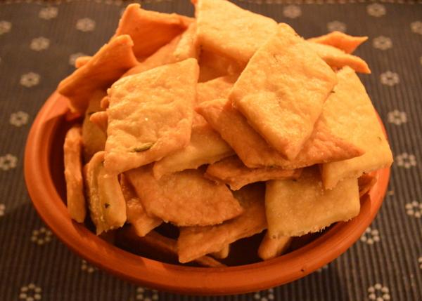 Dinner6 Rosemary Crackers