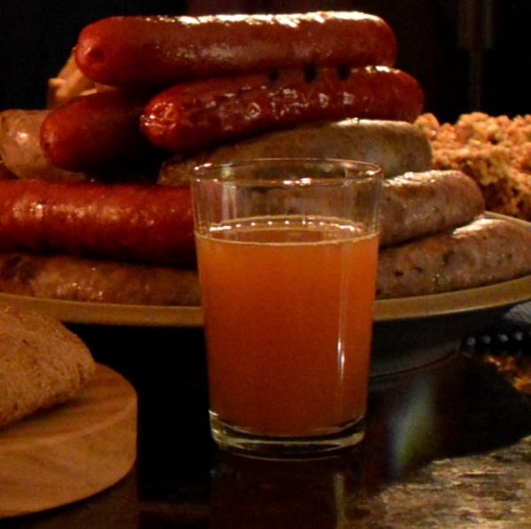 Dinner6 Whiskey Cider Punch