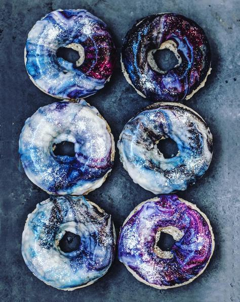 Instagram sobeautifullyraw Vegan Galaxy Donuts