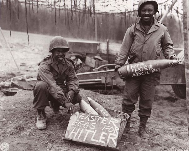 Easter eggs for Hitler, US National Archives via Wikimedia