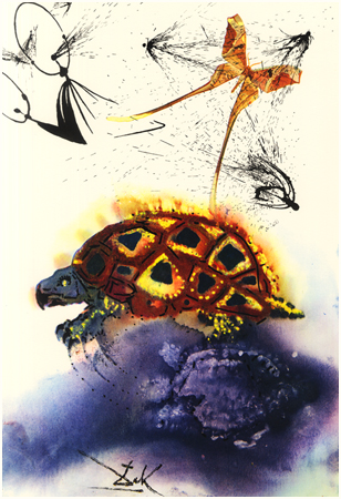 William Bennet Modern The Mock Turtle's Story DALI1011