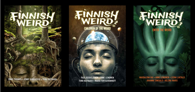 Finnish Weird 3 Issue Covers