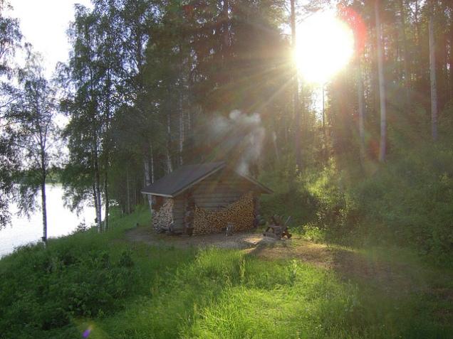 Flickr johanjeijon Sauna ROI Midnight 2010