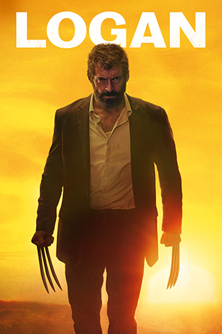 Logan Promo Poster Silhouetted Sunset