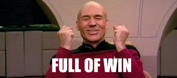 Twitter Adam Holisky Picard Full of Win