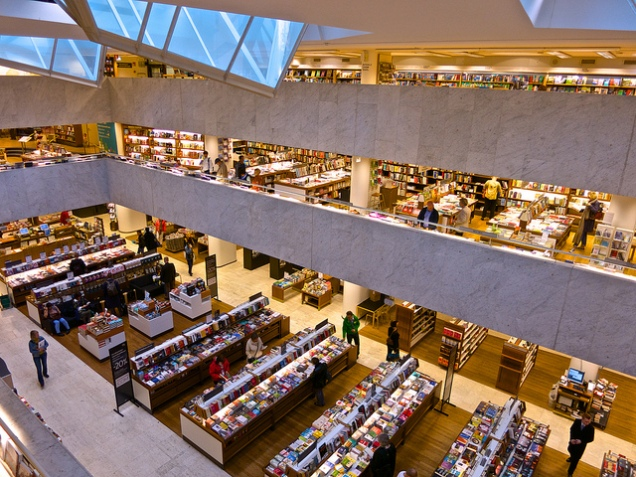Stockmann Book Department by IdeasAlchemist on Flickr