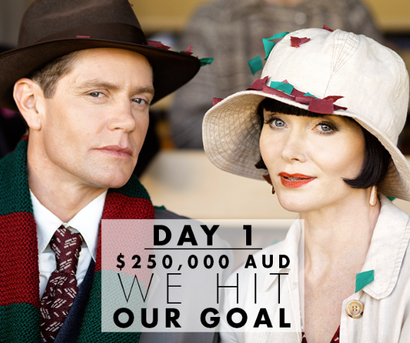 Kickstarter Miss Fisher Crypt of Tears Day 1