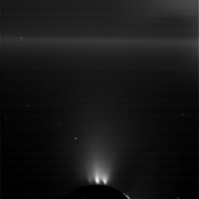 The Ringer NASA Enceladus Plumes