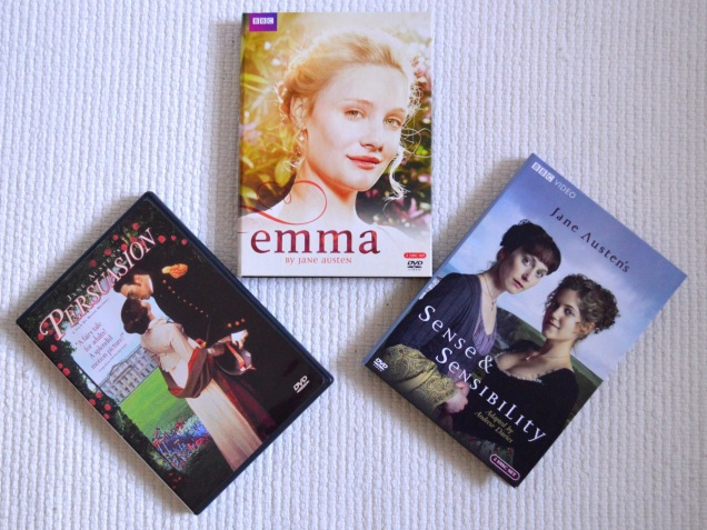 Jane Austen Rewatch Three Favorites