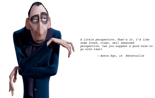 Ratatouille Anton Ego Perspective Quote