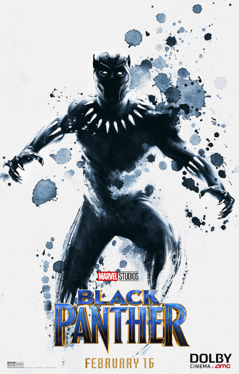 Tumblr Mark Ruffalo Black Panther Dolby Cinema Poster