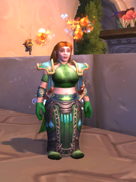 WoW StPats Mog Fire Mage