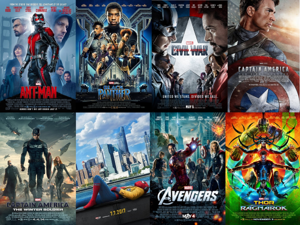 Our Fav MCU Movies Poster Collage Sm