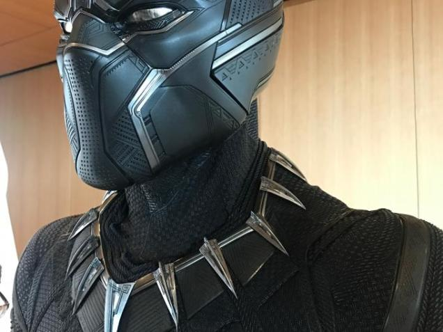 Smithsonian African American Museum Black Panther Hero Suit