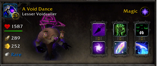 WoW Battle Pet A Void Dance Lesser Voidcaller