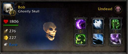 WoW Battle Pet Bob Ghostly Skull