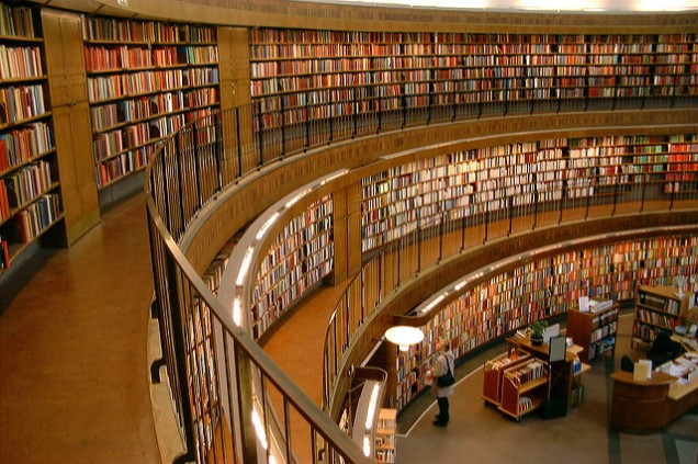 Flickr Marcus Hansson Stockholm Public Library