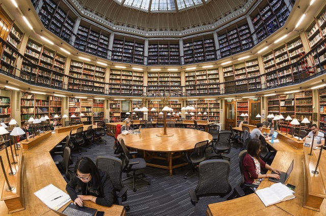 Wikimedia Kings College London Maughan Lib Round Reading Room Sm