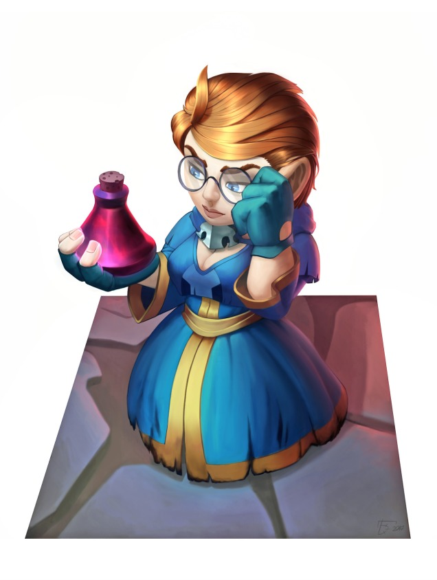Female Gnome: A Round Of Awesome Female WoW Gnome Fanart