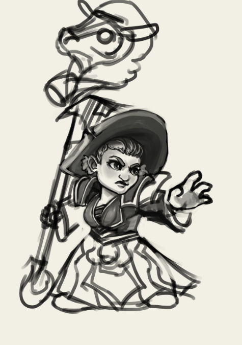 Tumblr Bryss Female Gnome Sketch