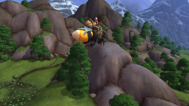 WoW BfA Stormsong Valley Bee Flyer Dec 2018
