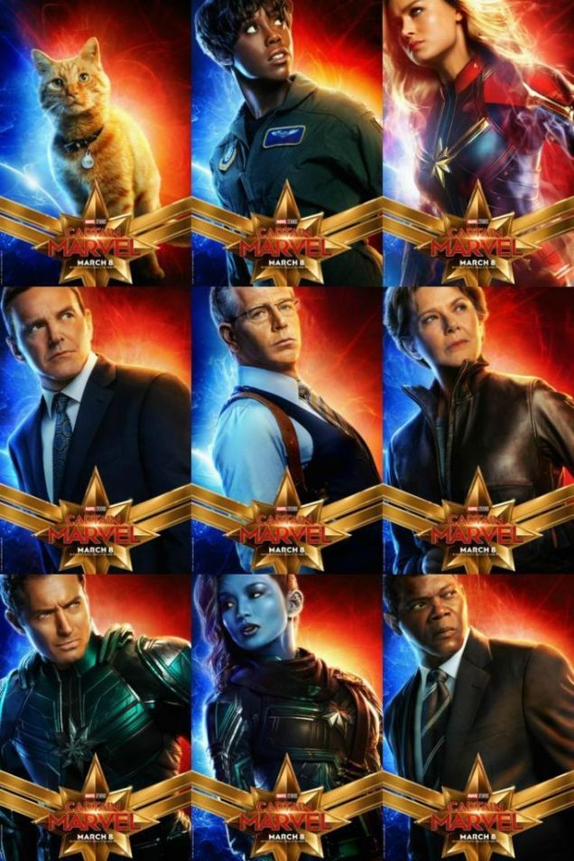 Twitter Review Wire Media CpMarvel Character Posters