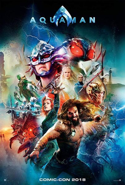 IMDb Aquaman Comic-Con Poster