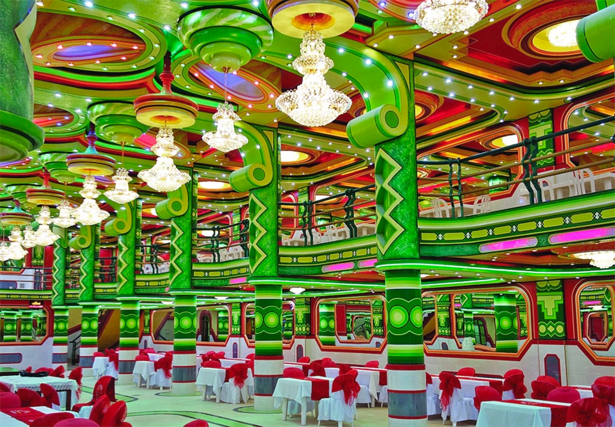 Colossal Mamani Green Interior