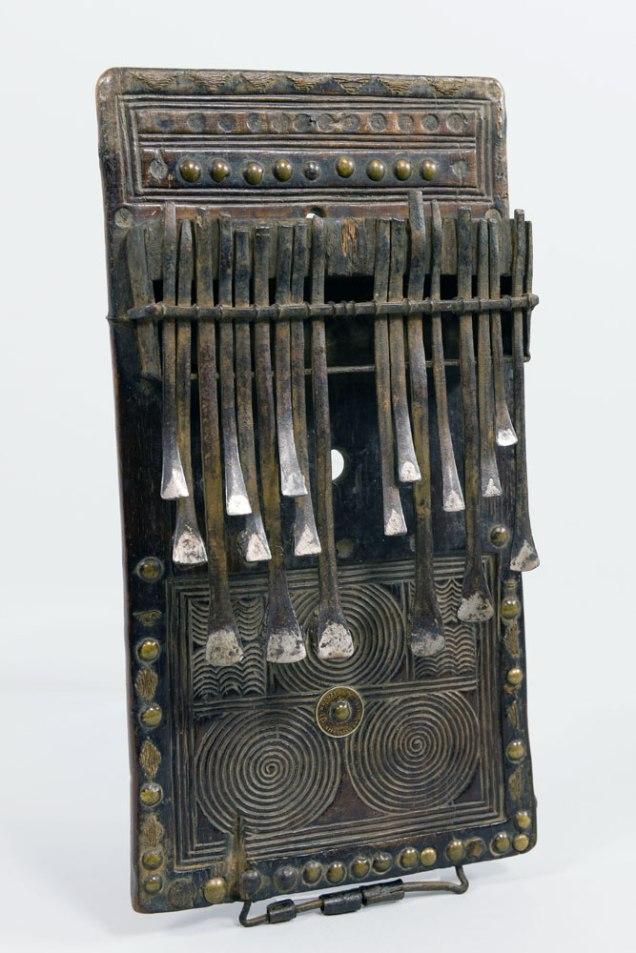 Smithsonian African Art Iron Exhibit Lamellophone