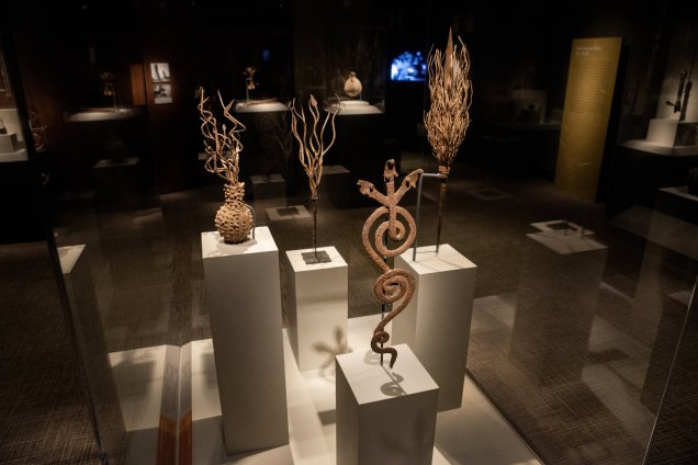 Smithsonian African Art Iron Exhibit Rain Wands
