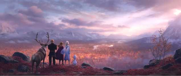Yle Frozen II Screencap Valley View