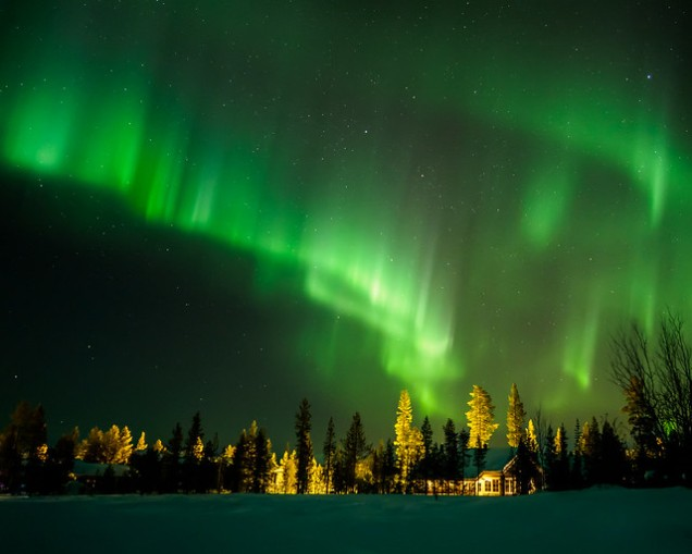 Flickr Heikki Holstila Northern Lights II