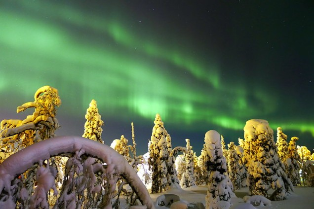 Flickr Timo Newton-Syms Northern Lights
