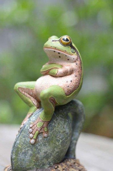 Twitter ItsJustJords Sitting Frog