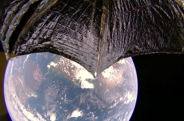 The Planetary Society LightSail 2 Australia New Guinea