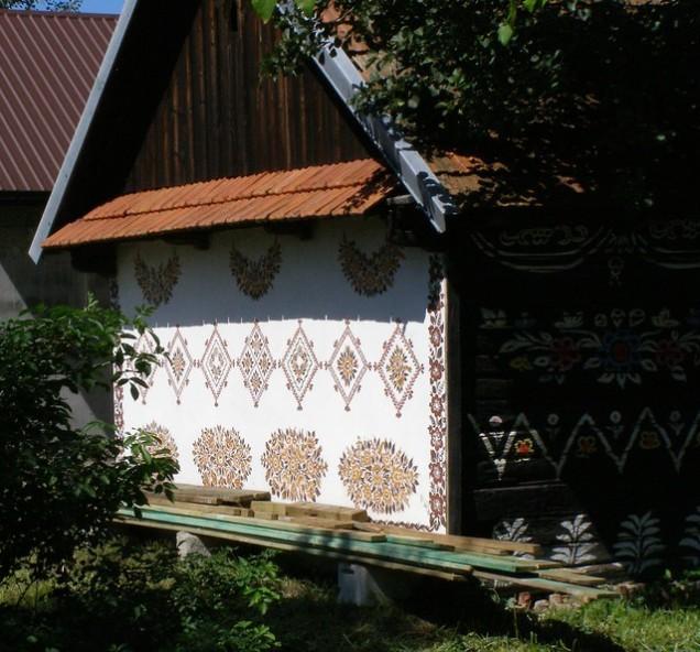 Flickr magro_kr Zalipie End of House
